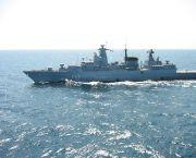 Fregatte Bayern auf hoher See