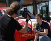 Elia Erhart beim Interview