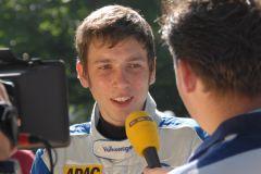 Elia Erhart - Nachwuchsrennfahrer VW Polo-Cup