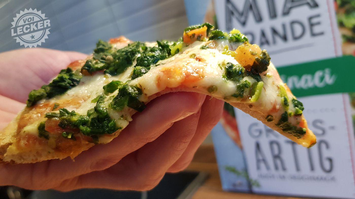 Pizzastück der la Mia Grande Pizza